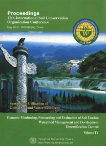 Proceedings 12th International Soil Conservation Organization - Desertification Us Soil Erosion Map Us
