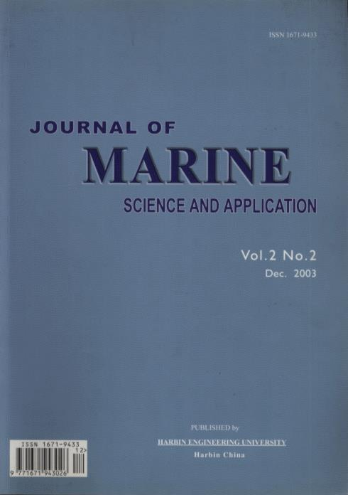 Journal of Marine Science and Application(Vol.2, No.2)