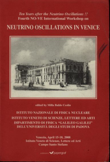 Fifty years after the Neutrino esperimental discovery- Third NO-VE International Workshop on: Neutrino Oscillations in Venice (Venezia, February, 2006)