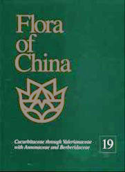 Flora of China, Vol.19, Cucurbitaceae through Valerianaceae with Annonaceae and Berberidaceae