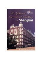A Glimpse of International Buildings in Shanghai